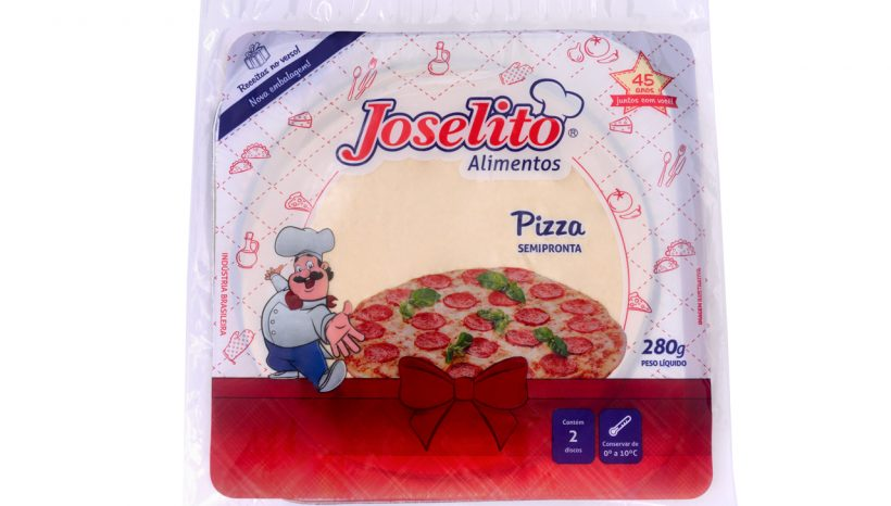 Pizza Semi-pronta com 2
